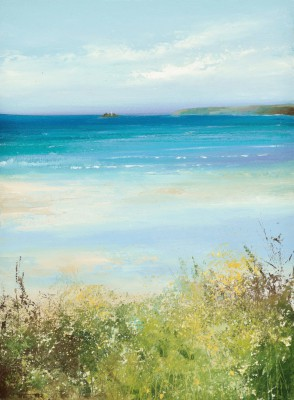 Amanda HOSKIN - Across the Golden Sands of Carbis Bay, St Ives