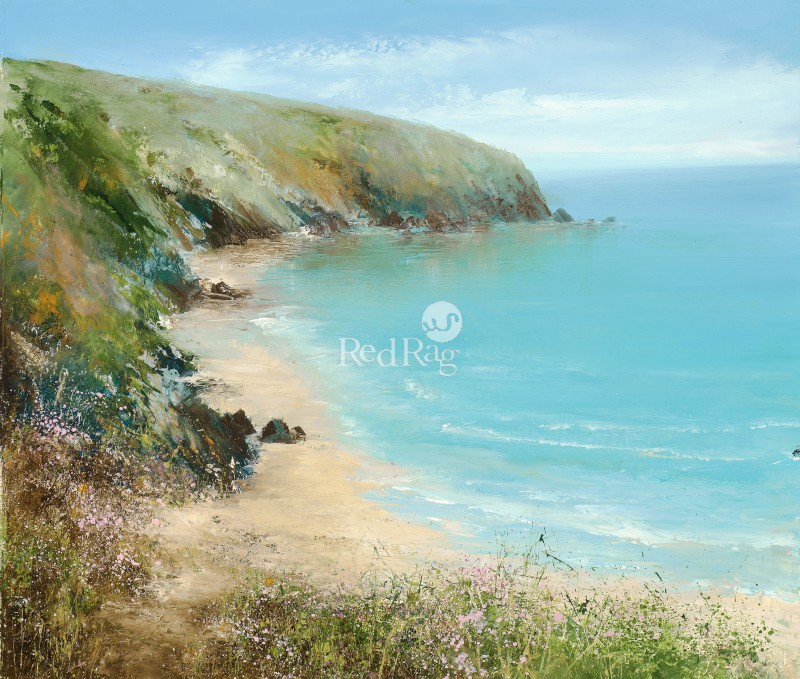 Amanda HOSKIN - The Path Runs Gently to Fowey