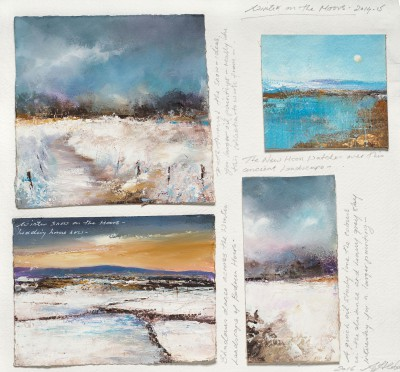 Amanda HOSKIN - Winter on the Moors