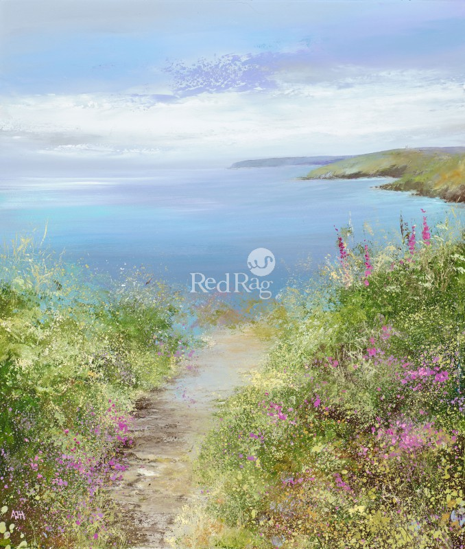 Amanda HOSKIN - A Perfect Day on the Hall Walk, Fowey