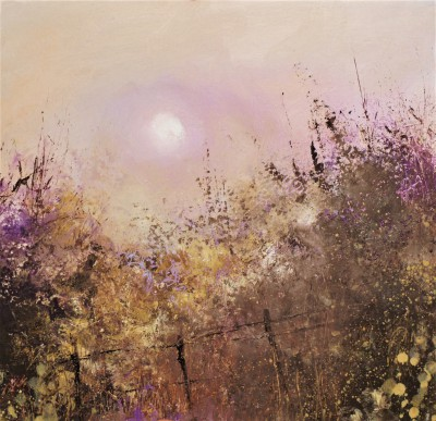 British Artist Amanda HOSKIN - Autumn Evening, Fowey