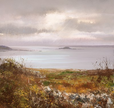 British Artist Amanda HOSKIN - Autumn Colours, Eastern Isles, Scillies