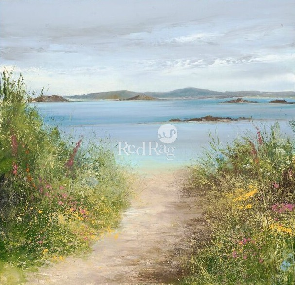 Amanda HOSKIN - Summer Path Tresco, Isles of Scilly