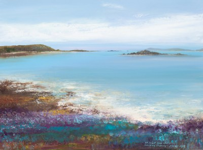 British Artist Amanda HOSKIN - Abstract Colours, Scillies