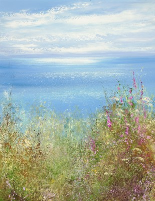 British Artist Amanda HOSKIN - Glorious Summer's Day on the North Coast