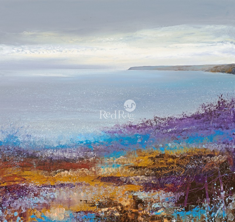 Amanda HOSKIN - Cornish Light across the Bay, Dodman