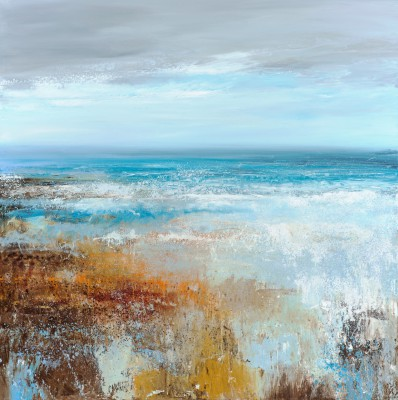 British Artist Amanda HOSKIN - The Sea is never still