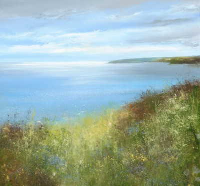 British Artist Amanda HOSKIN - Start Point on a Spring Day