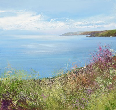 Stunning View towards Start Point painting by artist Amanda HOSKIN
