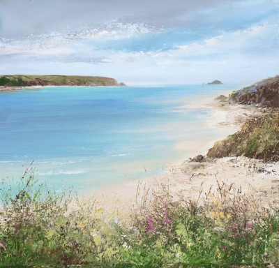 Amanda HOSKIN - Beautiful Day at Daymer Bay, Padstow