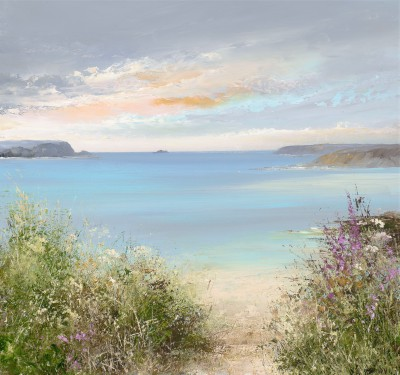 Amanda HOSKIN - Evening Sky over Daymer Bay