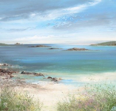 Amanda HOSKIN - Late Afternooon at Pentle Bay, Tresco