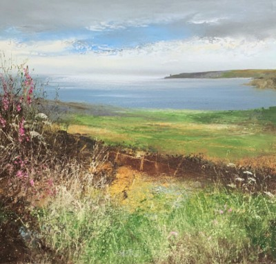 Amanda HOSKIN - Wildflowers Watch over the Bay