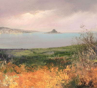 Amanda HOSKIN - Across the Fields to St Michael's Mount