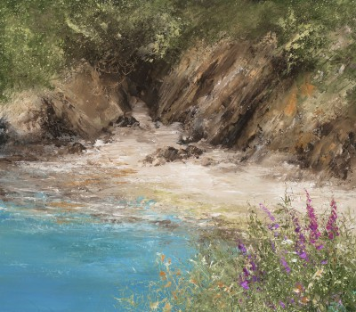 Amanda HOSKIN - A Quiet Cove on the Way to Little Dartmouth