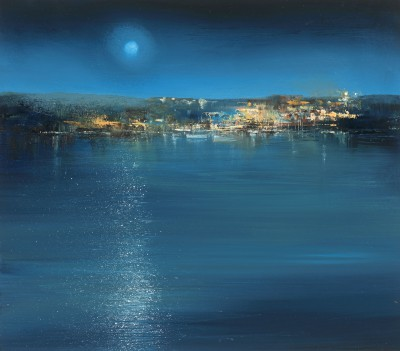 A Prussian Blue Night, Fowey