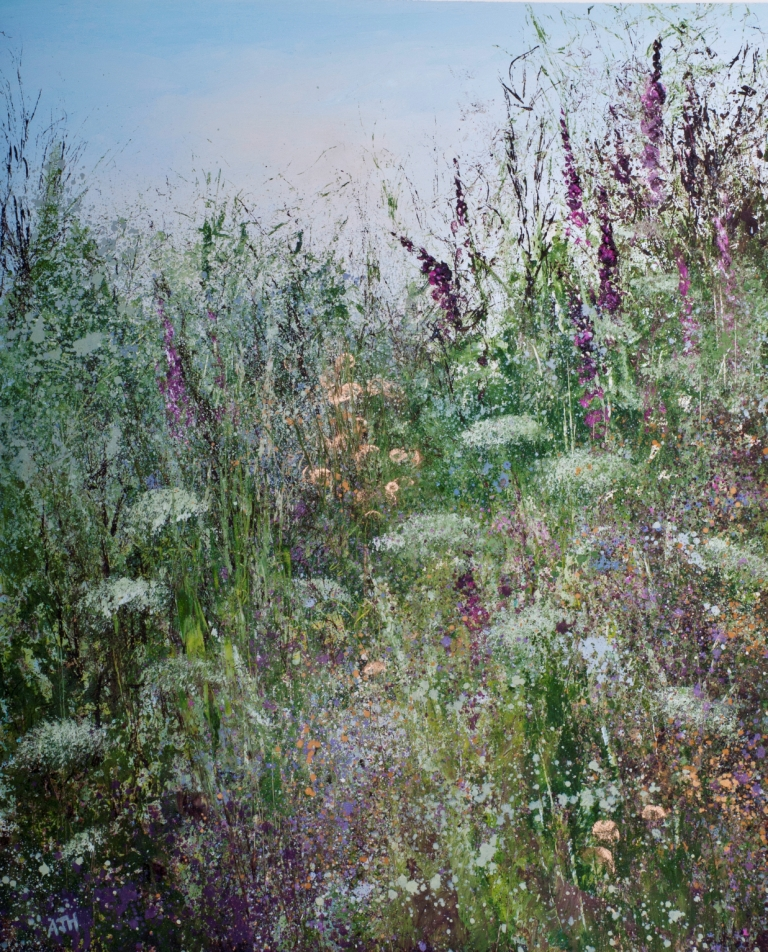 Amanda HOSKIN - Wild Flowers at Little Dartmouth