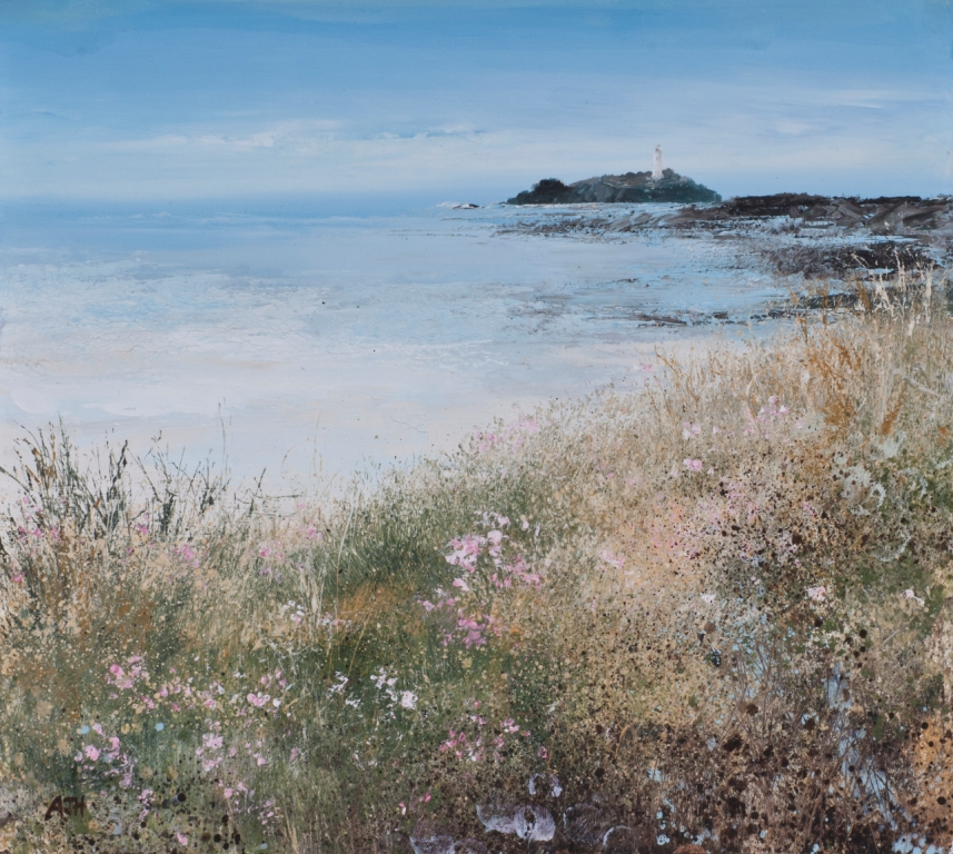 Amanda HOSKIN - Summer Pinks at Godrevy