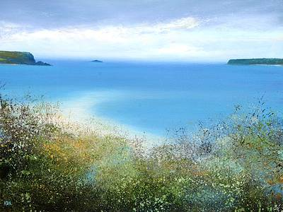 Amanda HOSKIN - Summer Haze of Flowers, Padstow