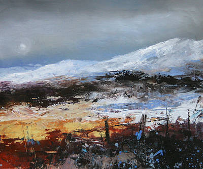 British Artist Amanda HOSKIN - Highland Colours, Scotland