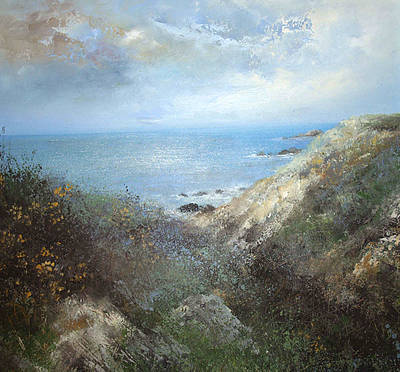 British Artist Amanda HOSKIN - Walking the Cornish Coast