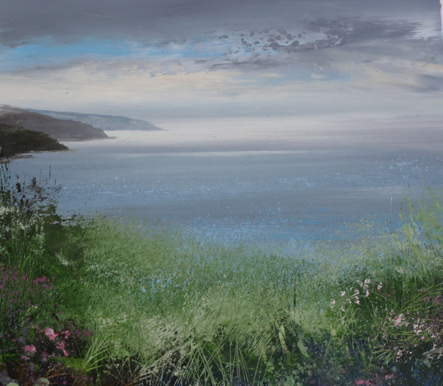 Amanda HOSKIN - September Flowers, near Fowey