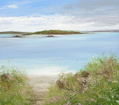 Amanda HOSKIN - Path to the Beach, Bryher, Scillies
