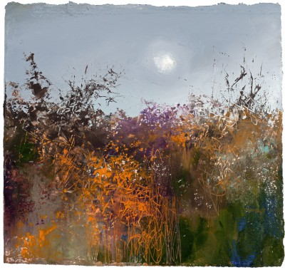 Amanda HOSKIN - Autumn Hedgerow, Lankelly Lane, Cornwall