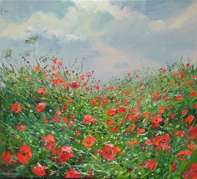 Mark PRESTON - Among the Poppies, Aston on Trent