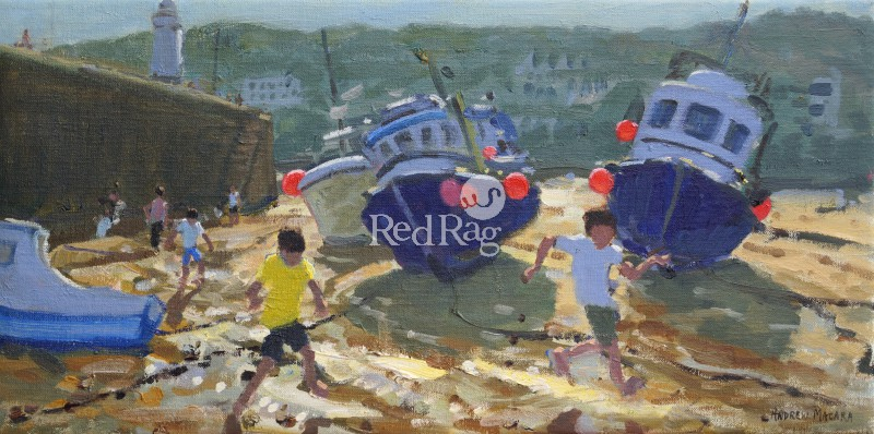 Andrew MACARA  - Kids and Boats, St Ives
