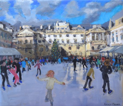 Andrew MACARA  - Christmas, Somerset House, Daytime