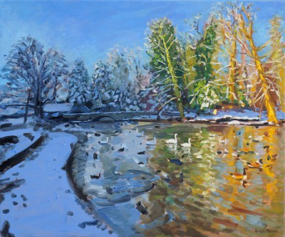 Andrew MACARA  - Winter Sun and Shadow, Markeaton Park