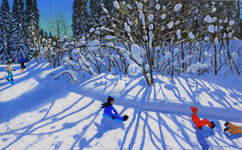 Andrew MACARA  - Sledging and Skiing Down The Trail, Morzine