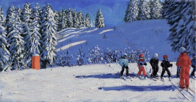 Andrew MACARA  - Young Skiers, Morzine