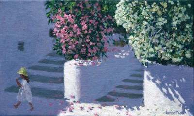 Andrew MACARA , contemporary artist&nbsp;-&nbsp;<span style='color:red;font-size: 200%'>&#8226;</span> Bougainvillea, Anandas