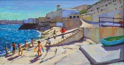 British Artist Andrew MACARA  - Bell Tower, Valletta