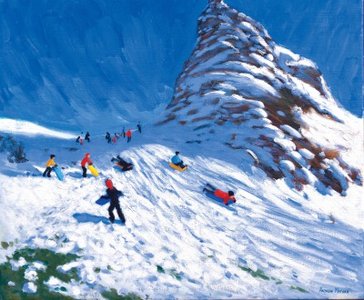 Andrew MACARA  - Sledging near Hollingsworth