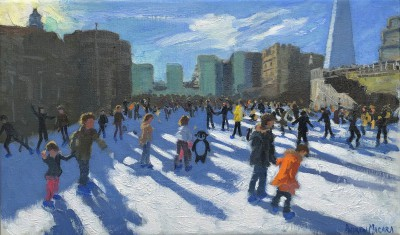 Andrew MACARA  - Christmas, Tower of London, Ice Rink