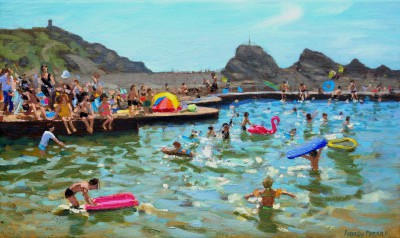 British Artist Andrew MACARA  - Sea Pool, Bude