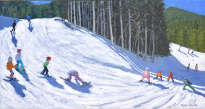 Andrew MACARA , contemporary artist - <span style='color:red;font-size: 200%'>•</span> Springtime, Courcheval de la Tania, France