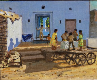 Andrew MACARA  - Children's Stall, Pushkar Camel Fair, Rajasthan, India