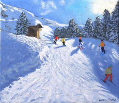 Andrew MACARA  - The Cross, Les Arcs, France