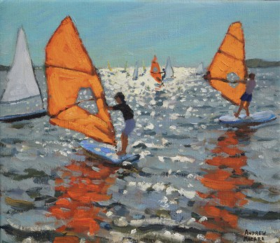 Andrew MACARA  - Windsurfers, Lemnos, Greek Islands
