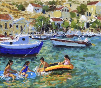 Andrew MACARA  - Fun in the Dinghies, Milos, Greek Islands
