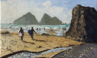 Andrew MACARA , contemporary artist - Holywell Bay, Cornwall
