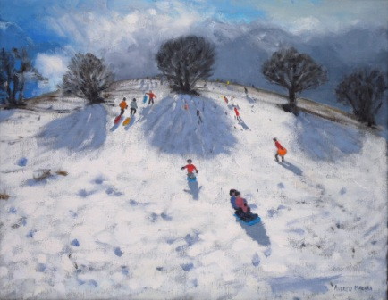 Andrew MACARA  - Before the Snow Storm, Derbyshire Peak