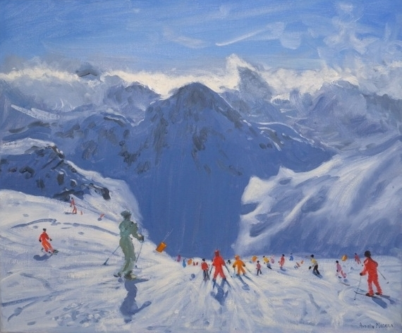 Andrew MACARA  - Mountain Shadows, Tignes