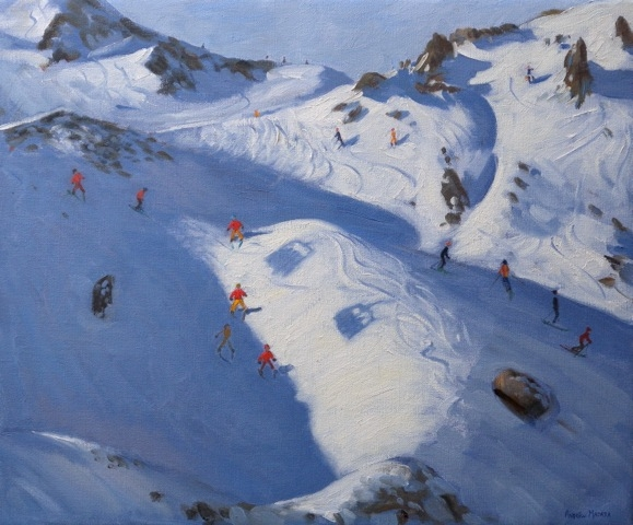 Andrew MACARA  - Chairlift Shadows, Tignes