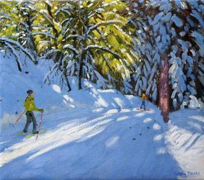 Andrew MACARA  - Through the woods, La Clusaz