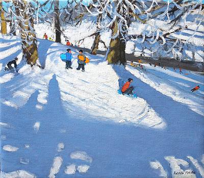 British Artist Andrew MACARA - Sledgers, Chatsworth